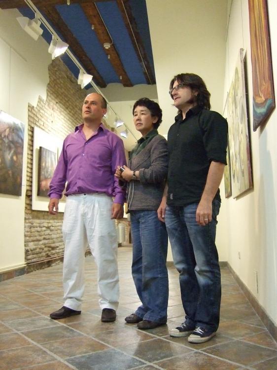 Expoición conjunta en Galería Orizuru
